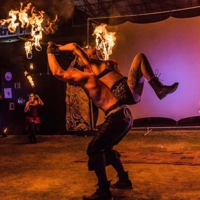 Fire Duet Performance | Alex Andra & Brady | Imagine Circus