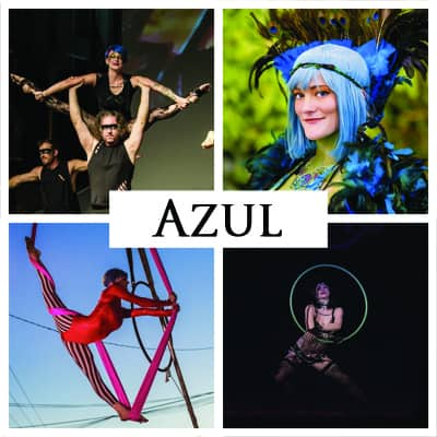 Azul | Imagine Circus | Performer