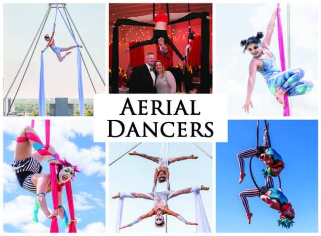 Aerial Dancers | Imagine Circus Performers | Event Entertainment