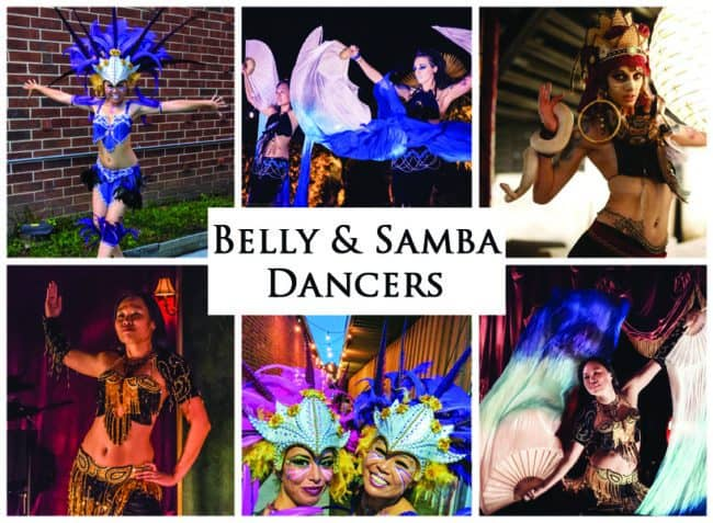Belly Dancers & Samba Dancers | Imagine Circus Performers | Event Entertainment