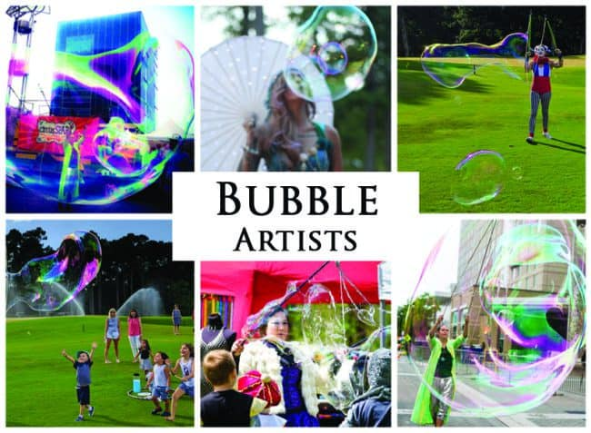 Bubble Artists | Imagine Circus Performers | Event Entertainment