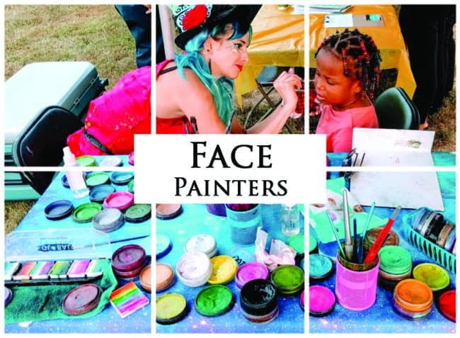 Face Painters | Imagine Circus Performers | Event Entertainment