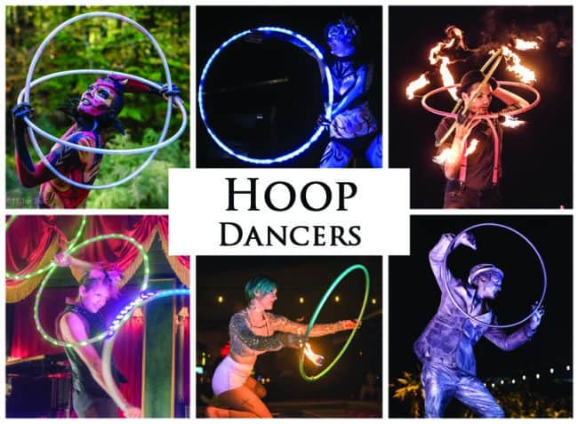 Hoop Dancers | Imagine Circus Performers | Event Entertainment