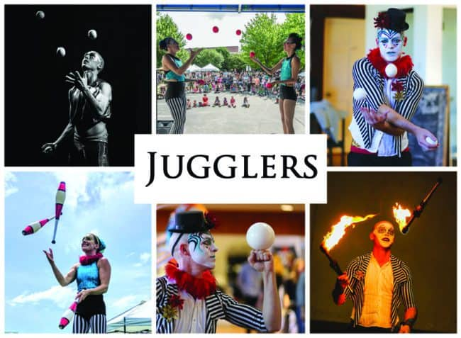 Jugglers | Imagine Circus Performers | Event Entertainment