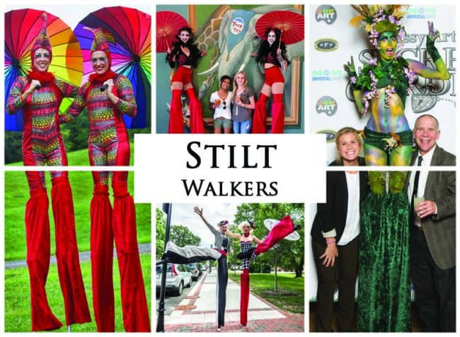 Stilt Walkers | Imagine Circus Performers | Event Entertainment