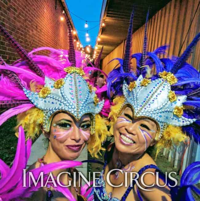 Carnival, Samba Dancer, Imagine Circus, Performer, Asyia, Kaci