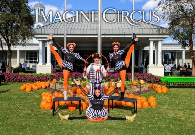 Group Photo, Fall Festival, Autumn, Country Club, NRCC, Liz, Kaci, Katie, Tain, Imagine Circus Performers