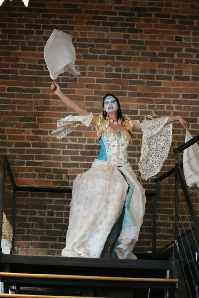 Antique Circus Performer   Friction   Imagine Circus   Raleigh NC