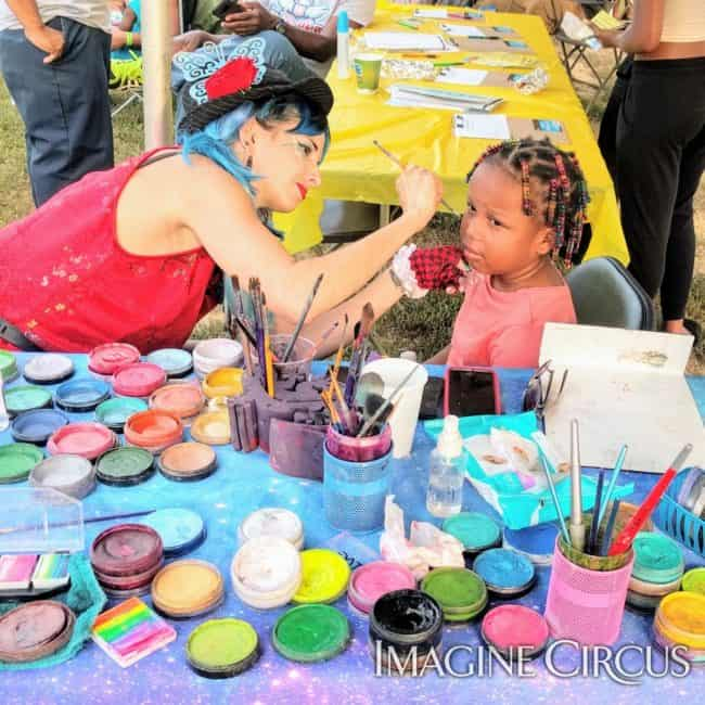 Face Painting, Family-Friendly, Molly, Imagine Circus, Performer