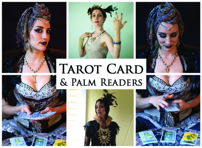 Tarot Card & Palm Readers | Acts | Imagine Circus | Cirque | Raleigh, NC