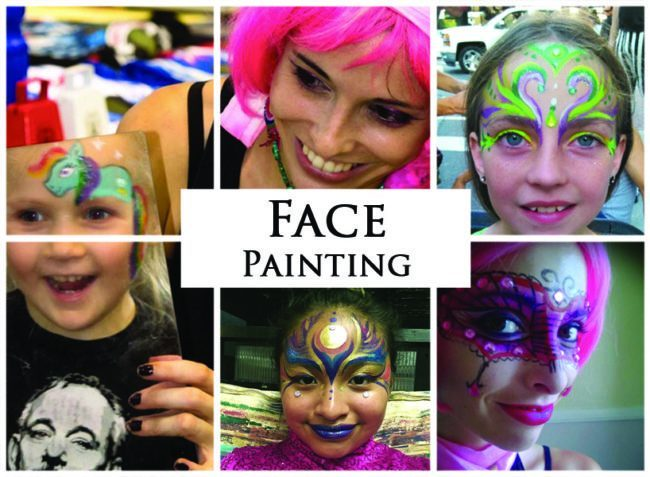 Face Painters | Acts | Imagine Circus | Cirque | Raleigh, NC