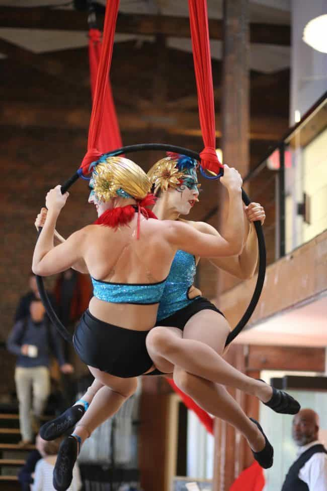 Aerial Duo | Lyra | Aerial Hoop | Modern Cirque | Katie & Liz Bliss | Imagine Circus | Raleigh, NC