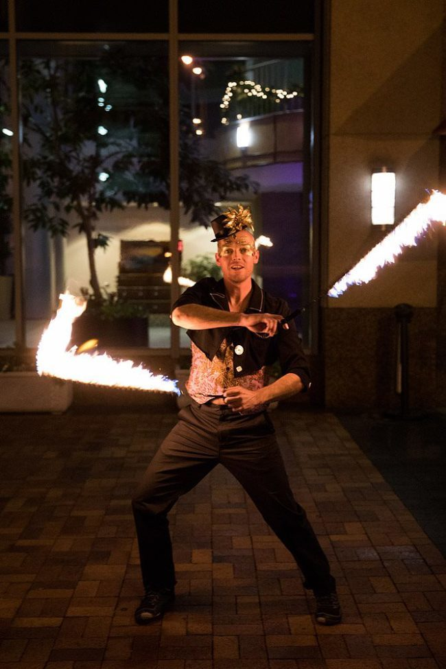 Adam | Masquerade | Fire Performer | Poi | Snakes | Imagine Circus | Cirque | Raleigh, NC