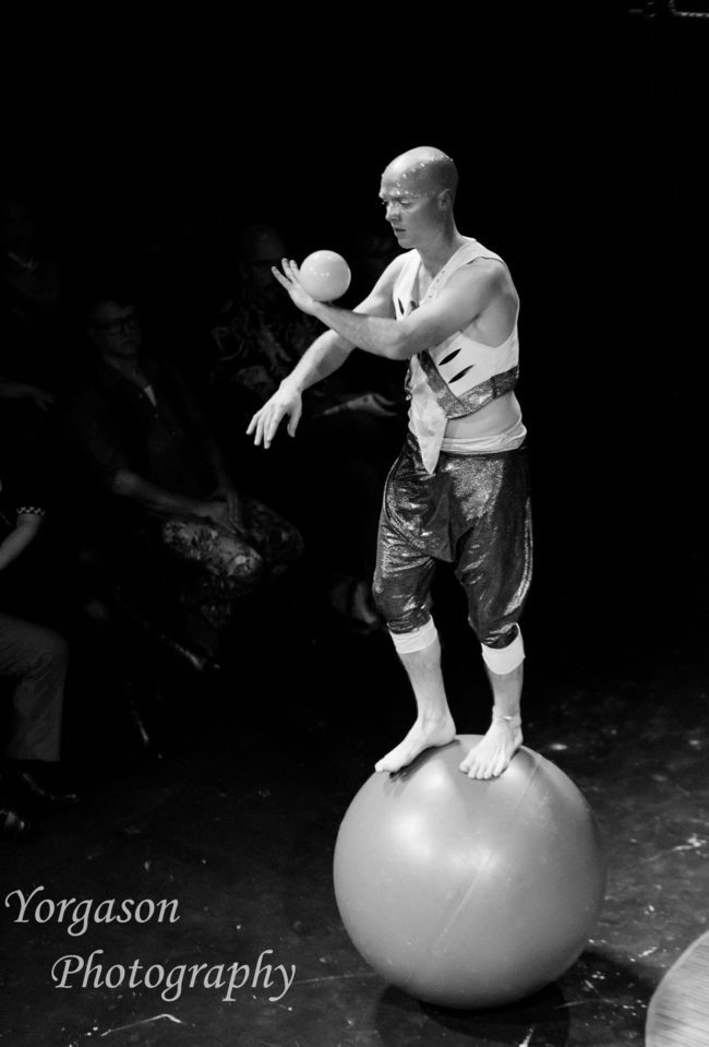 Adam | Light Pours In | Rolling Globe | Juggler | Contact Juggling | Imagine Circus | Cirque | Raleigh, NC
