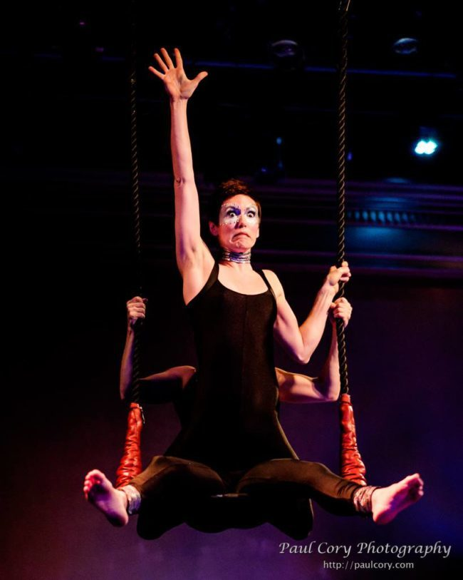 Amy | Light Pours In | Aerial Performance | Partner Aerials | Trapeze | Imagine Circus | Cirque | Raleigh, NC