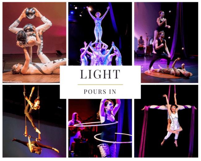 Light Pours In | Show | Imagine Circus | Acts | Cirque | Raleigh, NC