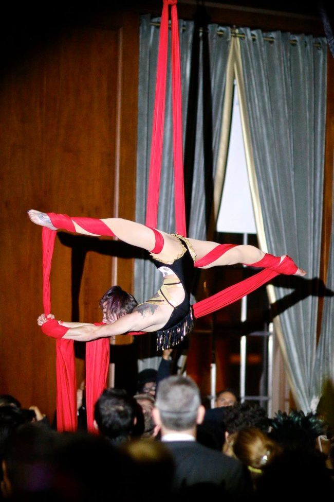 Brittany | Speakeasy | Roaring 20's | Aerial Performance | Aerial Silks | Imagine Circus | Cirque | Raleigh, NC