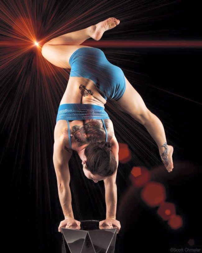Brittany | Acrobatic Performance | Hand Balancing | Handstand | Imagine Circus | Cirque | Raleigh, NC