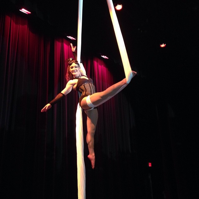 Brittany | Steam Punk | Victorian | Aerial Performance | Aerial Silks | Imagine Circus | Cirque | Raleigh, NC