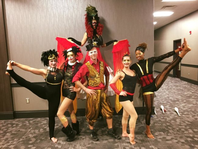 Masquerade | Stilt Walker |Acrobatic Performance | Acro | Adagio | Imagine Circus | Cirque | Raleigh, NC