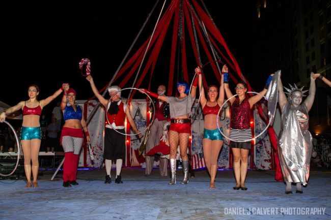 Patriotic Holidays | Stage Show | Performers | Imagine Circus | Cirque | Raleigh, NC
