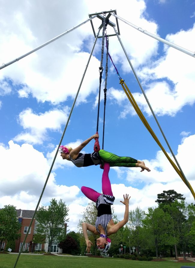 Neon | Aerial Performance | Partner Trapeze | Duo | Imagine Circus | Cirque | Raleigh, NC