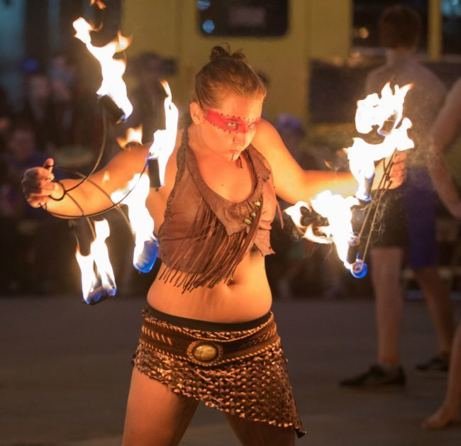 Irene | Tribal | Fire Performer | Fans| Imagine Circus | Cirque | Raleigh, NC