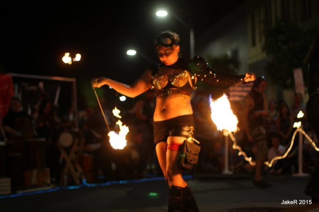 Irene | Steam Punk | Victorian | Fire Performer | Fire Poi | Imagine Circus | Cirque | Raleigh, NC