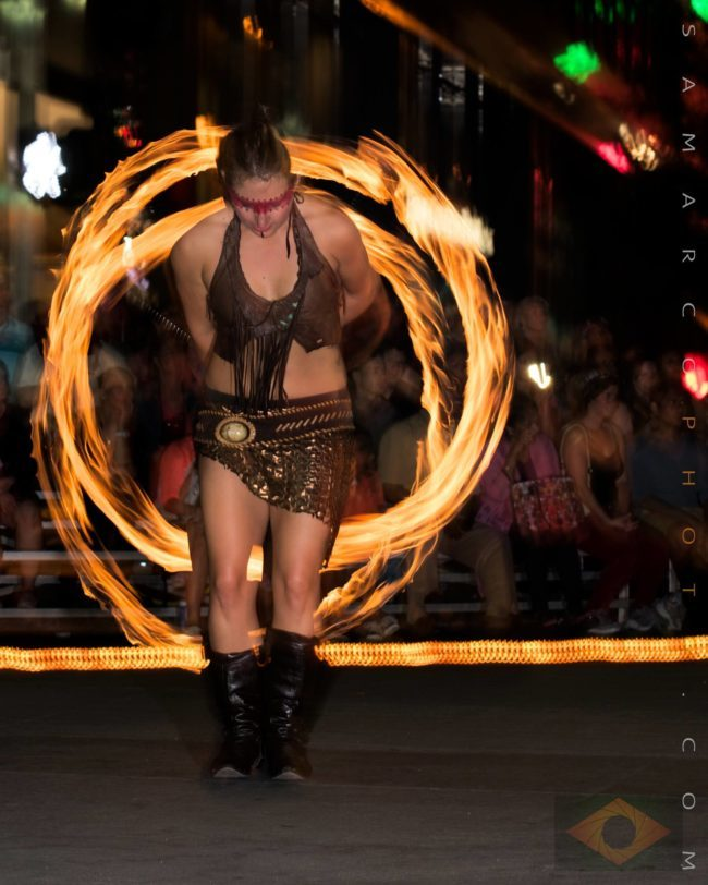 Irene | Tribal | Fire Performer | Poi | Imagine Circus | Cirque | Raleigh, NC