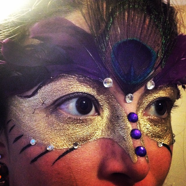 Mardi Gras | Face Paint | Face Painter | Imagine Circus | Cirque | Raleigh, NC