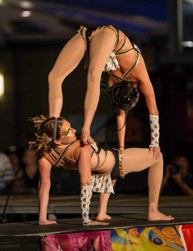 Katie | Acrobatic Performance | Partner Acro | Duo | Imagine Circus | Cirque | Raleigh, NC