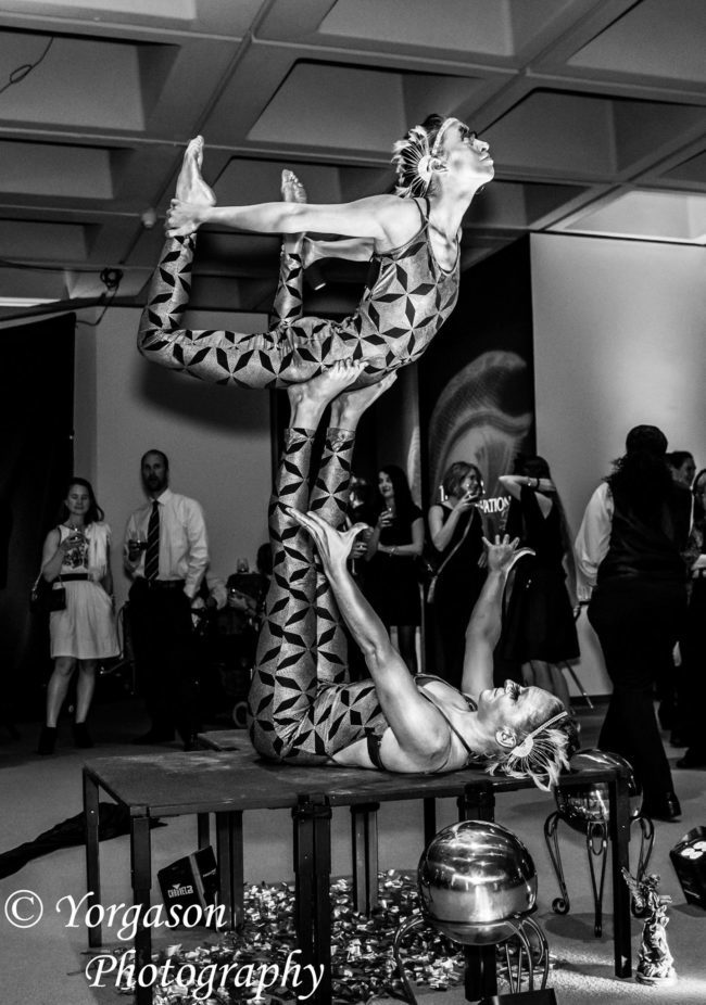 Kaci | Acrobatic Performance | Partner Acro | Duo | Imagine Circus | Cirque | Raleigh, NC