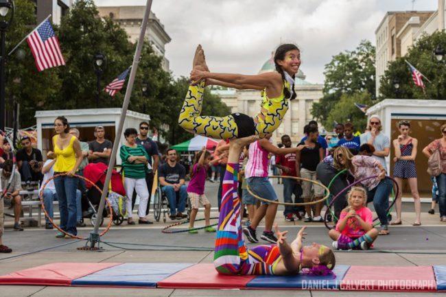 Acrobatic Performance | Partner Acro | Duo | Imagine Circus | Cirque | Raleigh, NC