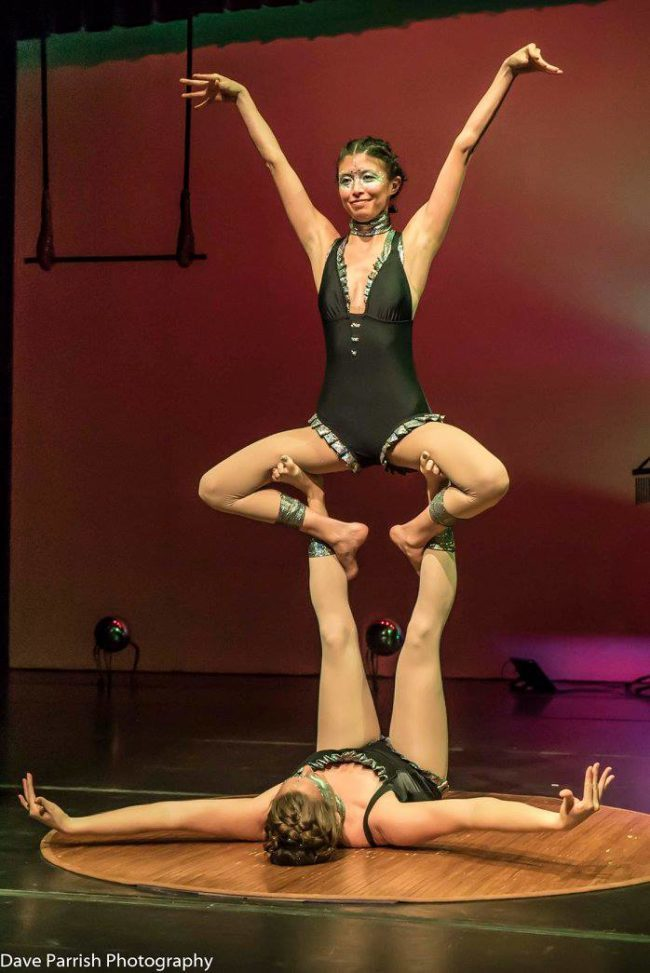 Kaci | Light Pours In | Acrobatic Performance | Partner Acro | Duo | Imagine Circus | Cirque | Raleigh, NC