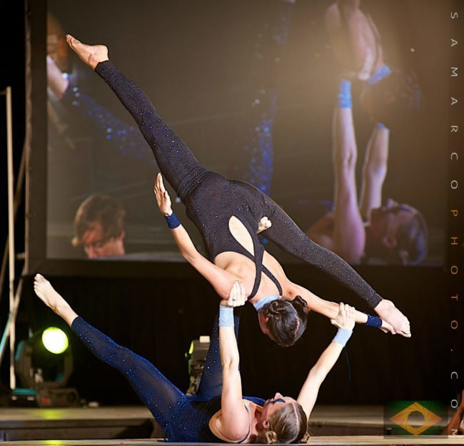 Acrobatic Performance | Partner Acro | Duo | Imagine Circus | Cirque | Raleigh, NC