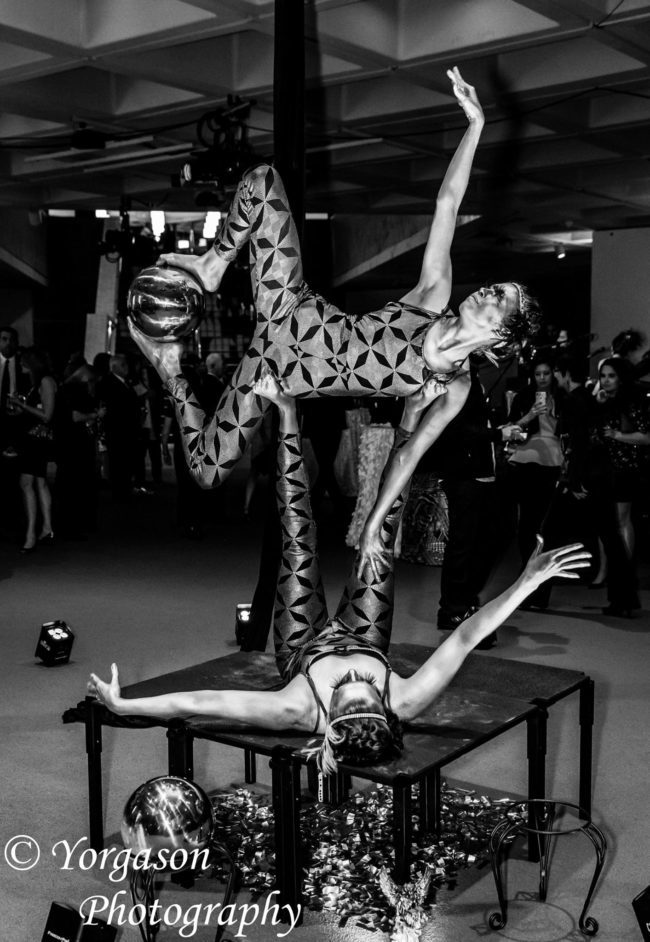Metallic | Acrobatic Performance | Partner Acro | Duo | Imagine Circus | Cirque | Raleigh, NC