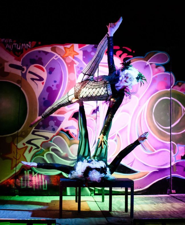 Kaci | Steam Punk | Victorian | Partner Acro| Acrobatic Performance | Imagine Circus | Cirque | Raleigh, NC