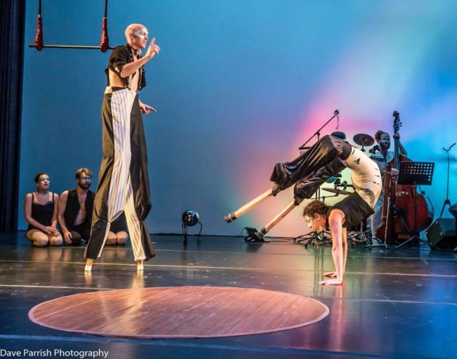 Light Pours In | Stilting Acro | Hand Balancing | Acrobatic Performance | Acrobatic Stilting | Stilt Walkers | Imagine Circus | Cirque | Raleigh, NC