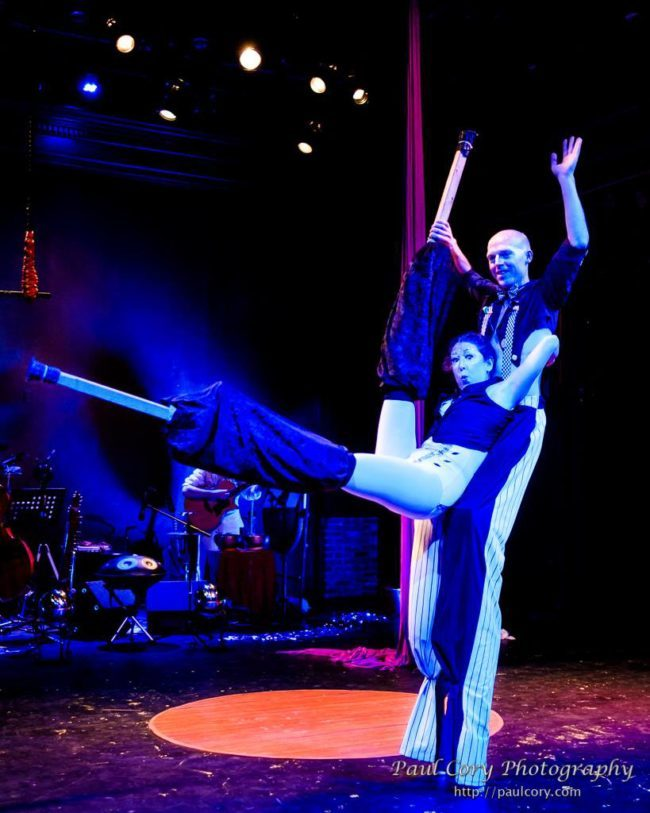 Light Pours In | Acrobatic Performance | Acrobatic Stilting | Stilt Walkers | Imagine Circus | Cirque | Raleigh, NC