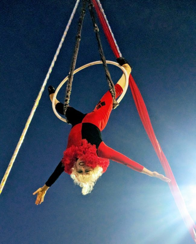Winter Holidays | Aerial Performer | Lyra | Imagine Circus | Cirque | Raleigh, NC