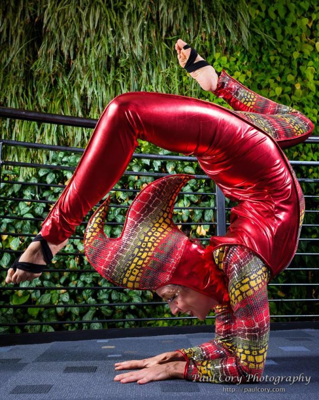 Liz | Acrobatic Performance | Jungle | Hand Balancing | Imagine Circus | Cirque | Raleigh, NC