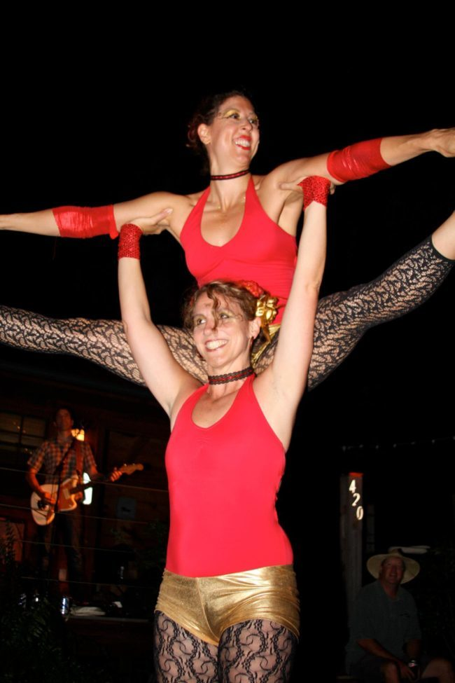 Jewels | Liz | Big Top Circus | Acrobatic Performance | Partner Acro | Duo | Imagine Circus | Cirque | Raleigh, NC