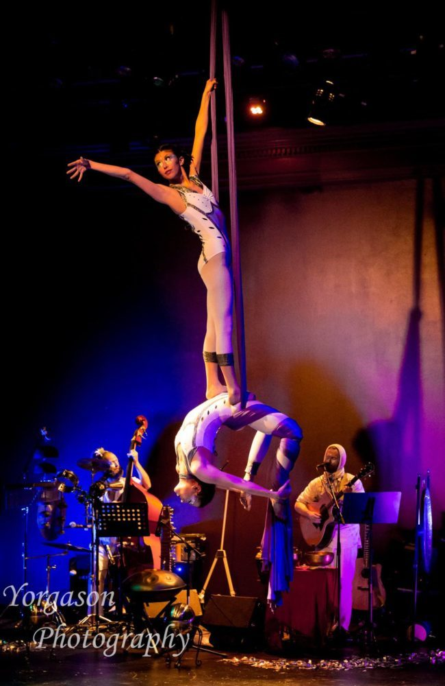 Light Pours In | Aerial Performance | Partner Silks | Duo | Imagine Circus | Cirque | Raleigh, NC