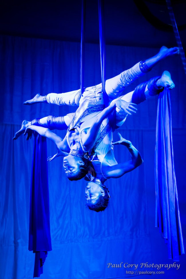 Kaci | Liz | Light Pours In | Aerial Performance | Partner Silks | Duo | Imagine Circus | Cirque | Raleigh, NC