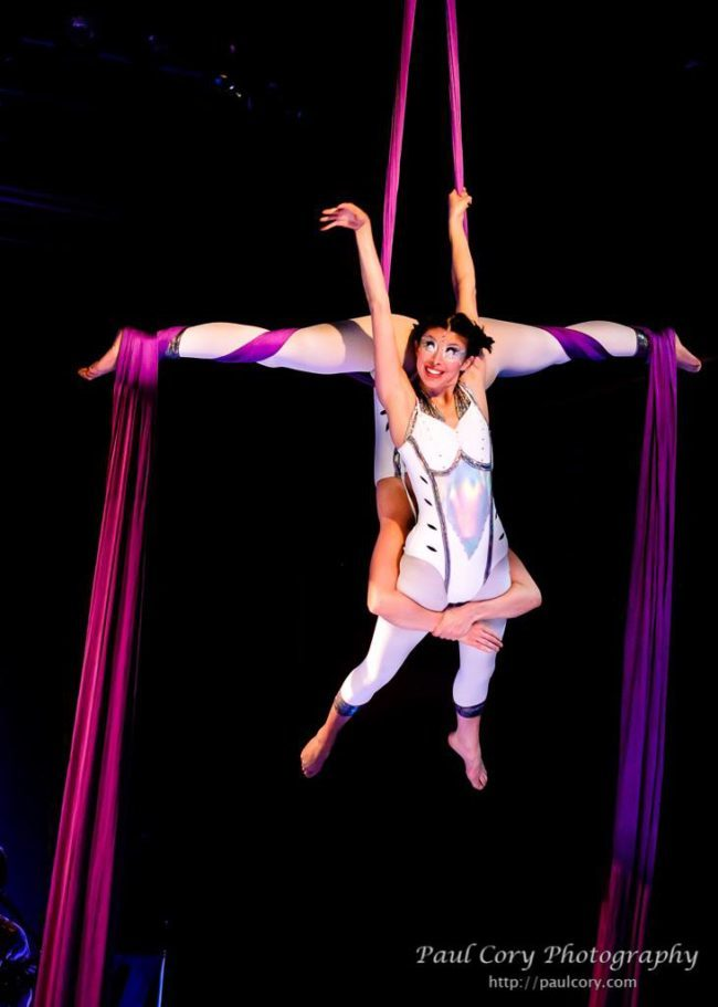 Kaci | Light Pours In | Aerial Performance | Partner Silks | Duo | Imagine Circus | Cirque | Raleigh, NC