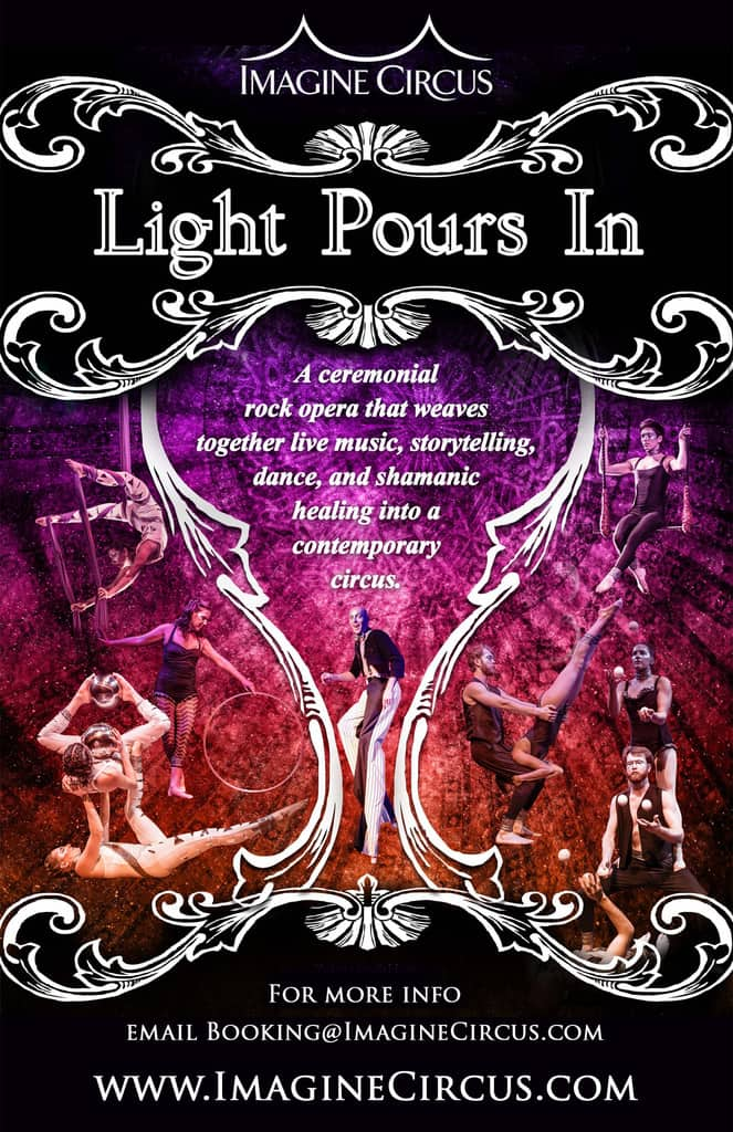 Light Pours In Poster | Imagine Circus | Show Feature Image