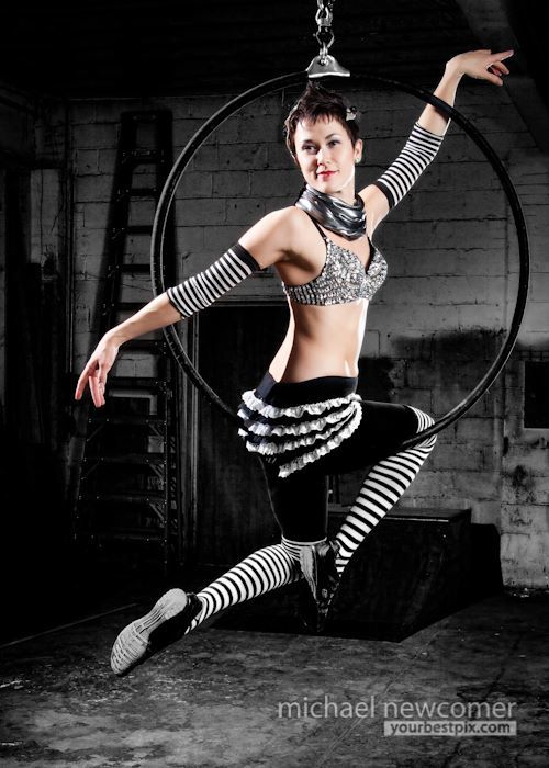 Mindy | Aerial Lyra | Aerial Hoop | Performer | Imagine Circus | Cirque | Raleigh, NC