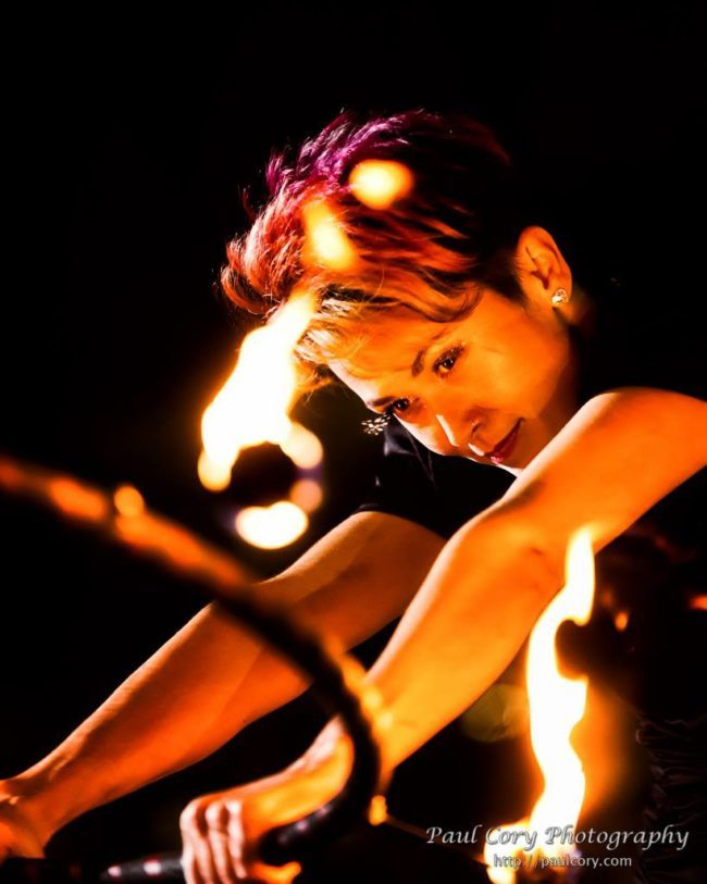 Mindy | Fire Dancer | Fire Hoop | Performer | Imagine Circus | Cirque | Raleigh, NC