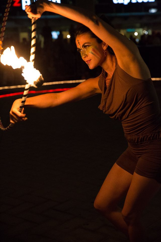 Mindy | Tribal | Fire Performer | Hoop | Imagine Circus | Cirque | Raleigh, NC