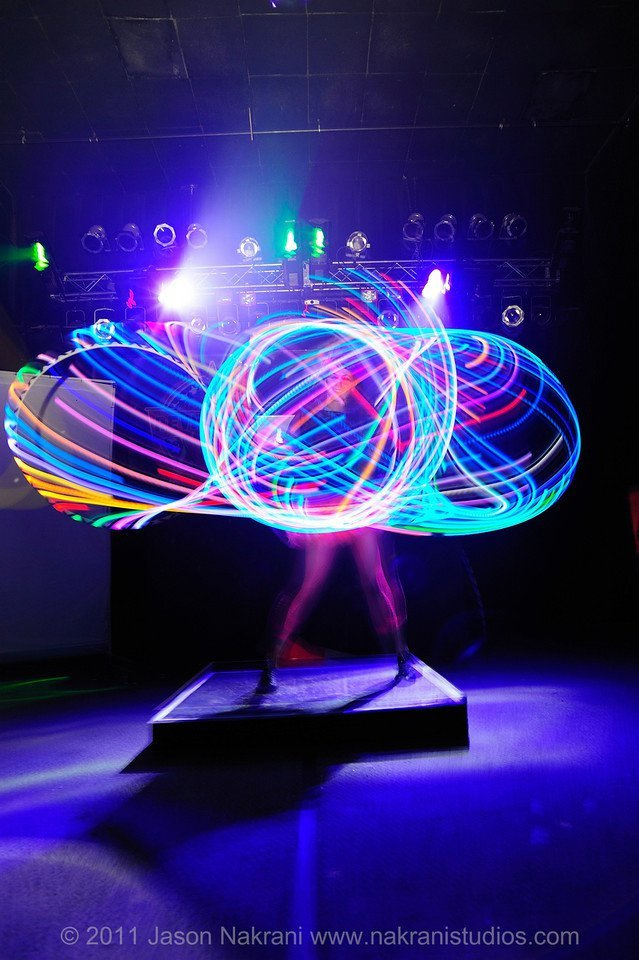 LED Flow Performance | Glow Hoop | Imagine Circus | Cirque | Raleigh, NC